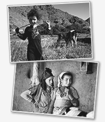 Berber girls from rural Morocco